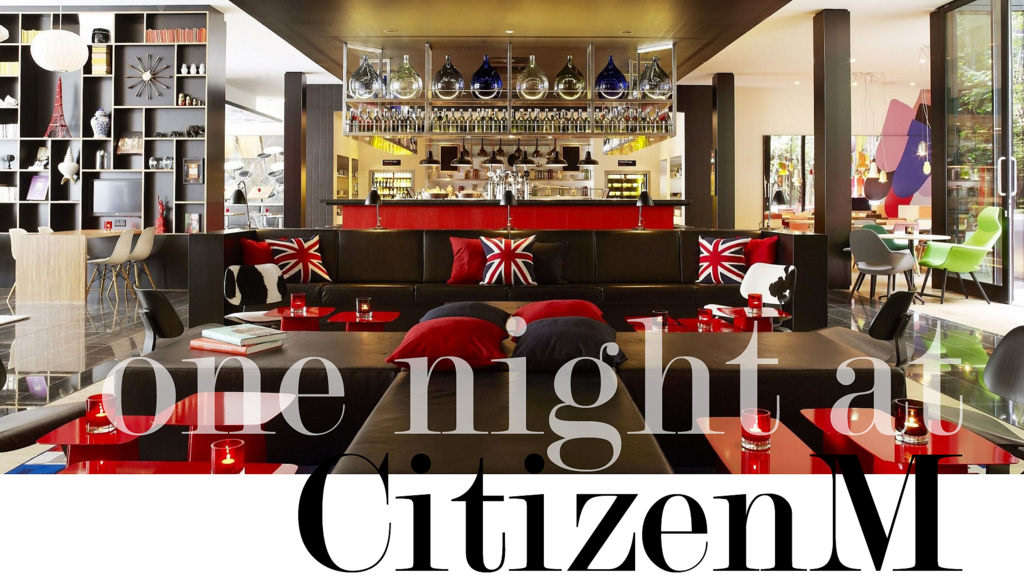 travel: Hotel Review // CitizenM London Bankside