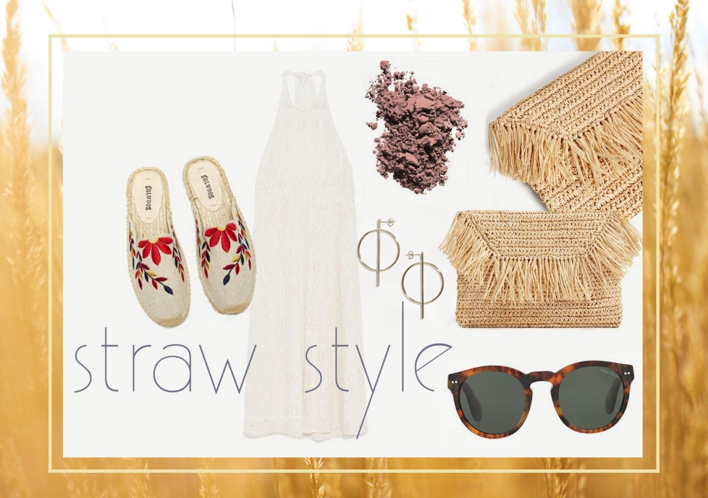 Outfit-Inspiration: Straw Style